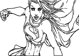 Small Picture super hero girl super hero coloring page supergirl coloring pages
