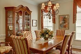 dining room set drapes