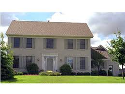 St  Rose Colonial Home Plan D    House Plans and More