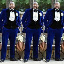 <b>3 piece</b> royal blue suit <b>men</b>