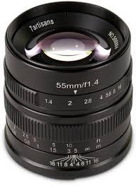<b>Объектив 7Artisans</b> 55mm F1.4 <b>Micro 4/3</b> купить в интернет ...