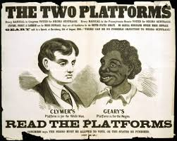 racism in heart of darkness and apocalypse now writework opposition poster for the 1866 election geary s opponent hiester clymer ran on a