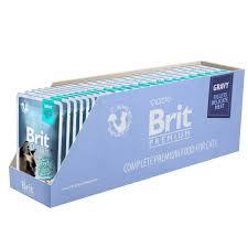 <b>Пауч</b> для кошек <b>Brit Premium GRAVY</b> Beef fillets Кусочки из филе ...