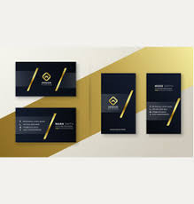 <b>Black Gold</b> Business Card Vector Images (over 10,000)