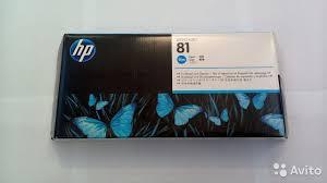 <b>Печатающие головки HP</b> 81 (C4951A - C4955A) купить в Москве ...
