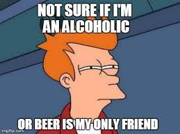 Drinking alone... : meme via Relatably.com
