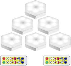 <b>4000K</b> Warm White Wireless LED Puck Lights with Remote Control ...