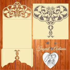 printable laser cut wedding invitation template vector cutting wedding card invitation template figures ai eps svg lasercut