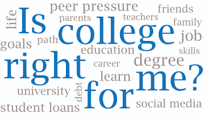 is college right for me the collegiate live print