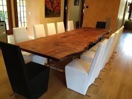 wood slab dining table beautiful: slab dining table traditional dining room