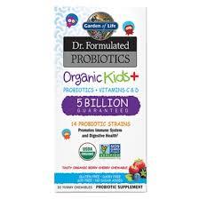 Garden of Life <b>Dr</b>. <b>Formulated Probiotics Organic</b> Kids+ 5 Billion ...