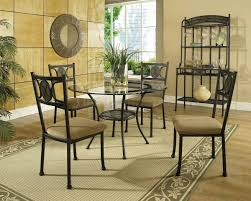 Round Glass Dining Room Table F Black Stained Mahogany Wood Table Legs For Dining Table With