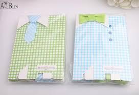 50 pcs My Little Man Blue Bow Green Tie Birthday First Communion ...