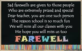 Farewell Poems for Teacher: Goodbye Poems for Teacher ...