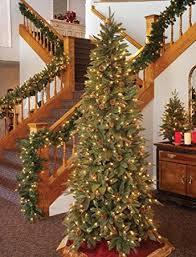 amazoncom gki bethlehem lighting pre lit 6 12 foot pepvc christmas tree with 400 clear mini green river spruce home kitchen amazoncom gki bethlehem lighting pre lit