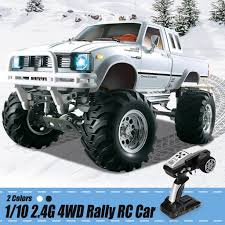 HG P407 1/10 2.4G <b>4WD</b> Rally <b>RC Car 4X4</b> Pickup Truck W ...