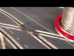 Laying slot <b>car braid on a</b> routed track - YouTube | Slot cars | Slot car ...