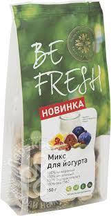 Купить <b>Смесь сухофруктов</b> и <b>орехов</b> Befresh Микс для йогурта ...