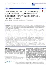 (PDF) Detection of postural sway abnormalities by wireless inertial ...