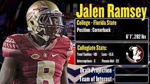 nfl draft profile jalen ramsey strengths and weaknesses 2016 nfl draft profile jalen ramsey strengths and weaknesses projection