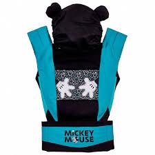 <b>Рюкзак</b>-Эрго <b>Polini kids Disney</b> baby Микки Маус, с вышивкой ...