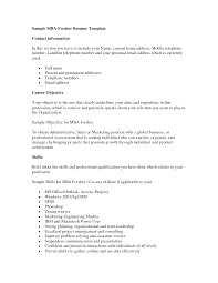 resume sample in word doc resumes and cover letters office get mba mba freshers resume format