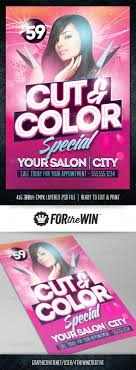 hair and nail salon flyers best image nail  hair salon flyer template by 4thewincreative graphicriver