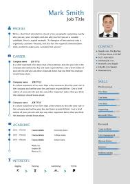 able cv template examples career advice how to modern resume template 5
