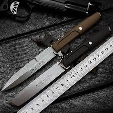 Outdoor EDC <b>Self defense</b> survival knives Camping Hunting knife ...