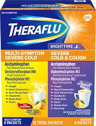 Theraflu <b>Day</b>/<b>Night Hot</b> Liquid Powder Value Pack