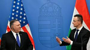 US moves to pull central and eastern <b>Europe out of</b> China-Russia orbit