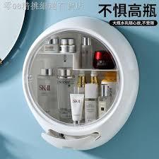 <b>Cosmetic Storage Box Wall Mounted</b> Free Punching Dustproof ...