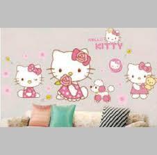 jual stiker tembok hello kitty: Jual wall sticker wallsticker wallpaper stiker tembok