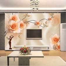 <b>Beibehang</b> Custom Wallpaper Relief Flower Atmosphere <b>Aesthetic</b> ...