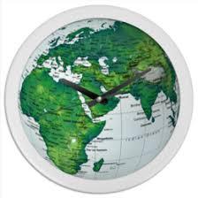 """Часы для офиса c уникальными принтами """"<b>земля</b>"""" - купить в ..."""