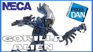 <b>Aliens</b> Gorilla <b>Alien NECA Toys</b> Kenner Wave <b>Figure</b> Video Review ...
