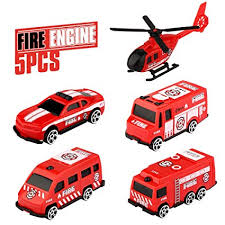 Epoch <b>Air</b> Fire Engine <b>Kids Toys</b> Cars <b>Set</b> Pull Back and Go <b>Toy</b> ...
