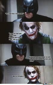 Why So Serious? by zander.noome - Meme Center via Relatably.com