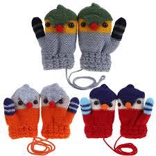 <b>New Arrival Winter Baby</b> Boys Girls Knitted Gloves Warm Rope Full ...