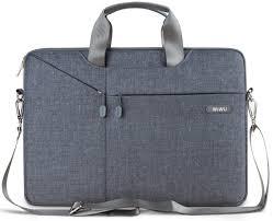 Cумка <b>WIWU Gent</b> Brief Case for <b>15</b>-16 <b>inch</b> MacBook Pro - Gray ...