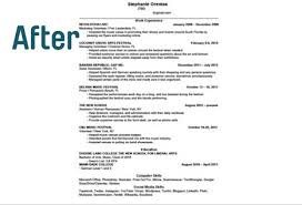 ways to make your resume fit on one page   findsparkfindspark one page resume before findspark one page resume after