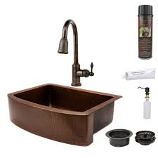 hammered apron kitchen sink premier copper products 33quot x 24quot apron kitchen sink