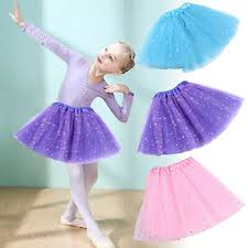 Kids Girl <b>Glitter Tulle Tutu Skirt</b> Sequin Mesh <b>Skirt</b> Dance Ballet ...