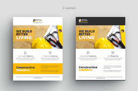 construction business flyer template com 0 0