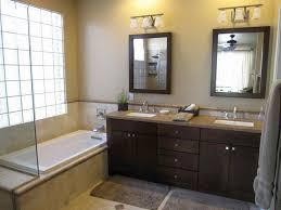 bathroom vanity mirror ideas modest classy: bathroom vanity lighting pictures s custom crafted vanity in dark tones balances visually the soft and glowing lighting around idea bathroom vanities