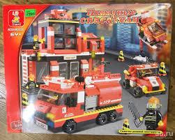 <b>Конструктор Sluban Пожарные спасатели</b>.Новый,остатки с ...
