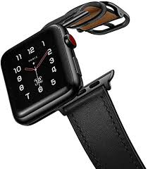 amBand Leather Band Compatible with Apple Watch ... - Amazon.com