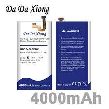 Da Da Xiong 4000mAh <b>HB3748B8EBC</b> Battery For Huawei Ascend ...