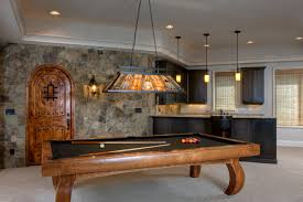 kitchen room pull table: modern pool tables basement traditional with bar billiard light billiard