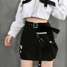 Summer <b>Red</b> Skirts Mini Women <b>2019</b> New Harajuku Trendy ...